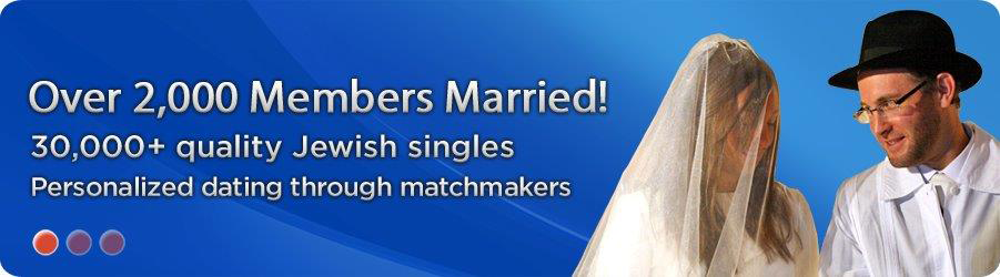 Matchmaker jewish dating site