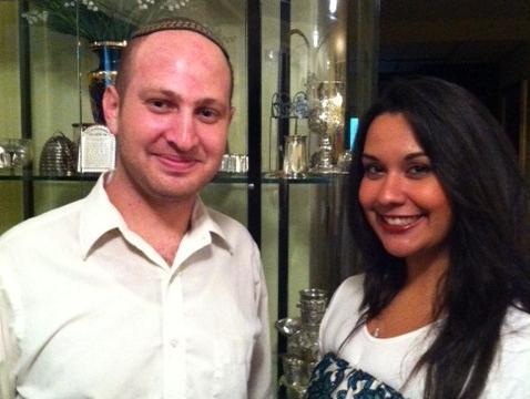 Simchas - Jewish Couple Engagements | SawYouAtSinai Malin Akerman Jewish